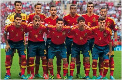 Alineación de España en el Mundial juvenil de Turquía 2013, extraída del Informe Técnico oficial del torneo.