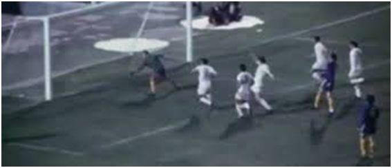 Final Recopa 1971, gol al Chelsea.