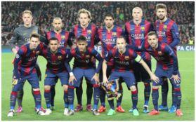 Barcelona F.C. Temporada 2015-16 (8 Jugadores Extranjeros 3 Nacionales)
