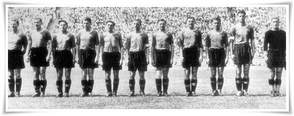 El 11 del Rapid de Viena el 22 de junio de 1941 | Storie di Calcio