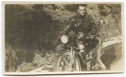 Francisco Cadellans en 1928 en Puigcerdà. Archivo Familiar Cadellans Solé (gentileza de Tatiana Moneta)