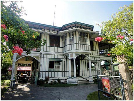 Casa de los Amechazurra en Silay (Isla de Negros, Filipinas)