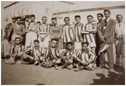 Fotografía del equipo más antiguo del Baleares FC que se conoce, 17 de junio de 1921 (archivo Antoni Lliteras Carbonell)