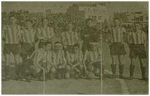 Formación del Athletic FC, temporada 1939-40 (Baleares, 21 de noviembre de 1939)