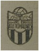 Escudo del CD Atlético Baleares, año 1945