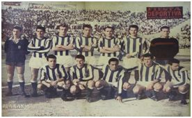 Formación del CD Atlético Baleares (Fiesta Deportiva, 17 de junio de 1961)