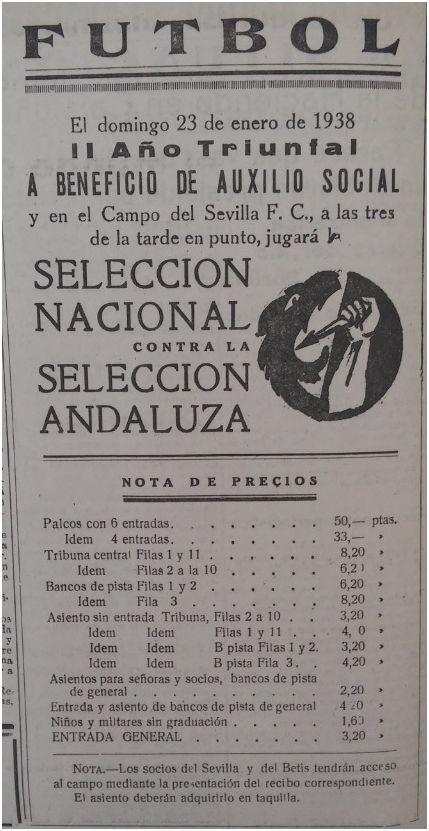 Fuente: FE 21 de enero de 1938