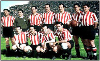 """El Atlético Aviación, la temporada 1943-44. Juanito, al que en su pueblo apodaron """"Sanignacio"""", jugó dos partidos durante esa campaña, aunque ninguno de Liga."""