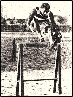 Luis Monasteriocide, atleta y futbolista entre los años 20 y 30 del siglo XX.