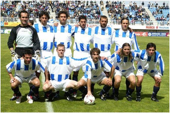 Formación del Club Deportivo Leganés Temporada 2003/04