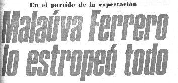 Titular de portada del diario Marca.