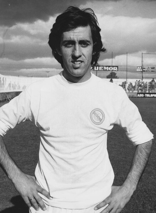 Pozo jugador del Castilla primer jugador expulsado por Pérez Sánchez