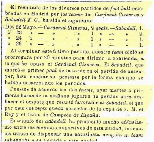 Revista de Sabadell, 28 de mayo de 1913