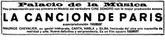Heraldo de Madrid, 3-10-1929.