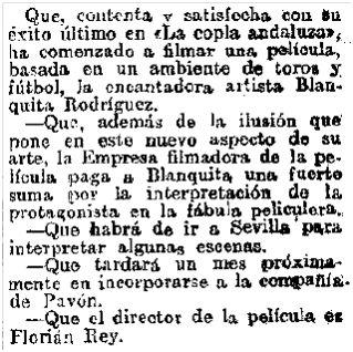 El Heraldo de Madrid, 3-10-1929.