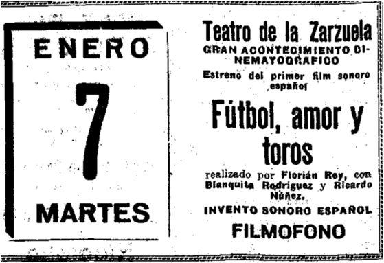 El Heraldo de Madrid, 3-1-1930.