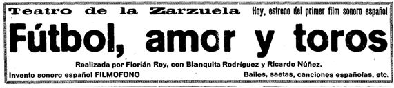 El Heraldo de Madrid, 7-1-1930.