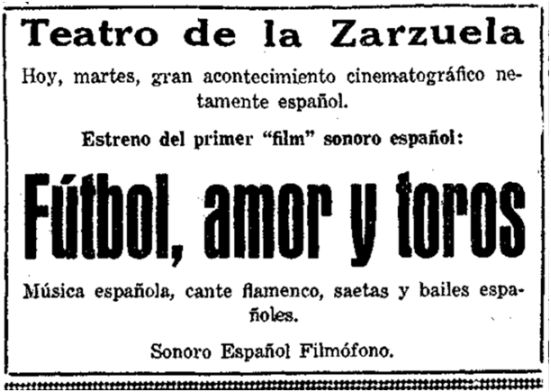 El Sol, 7-1-1930.