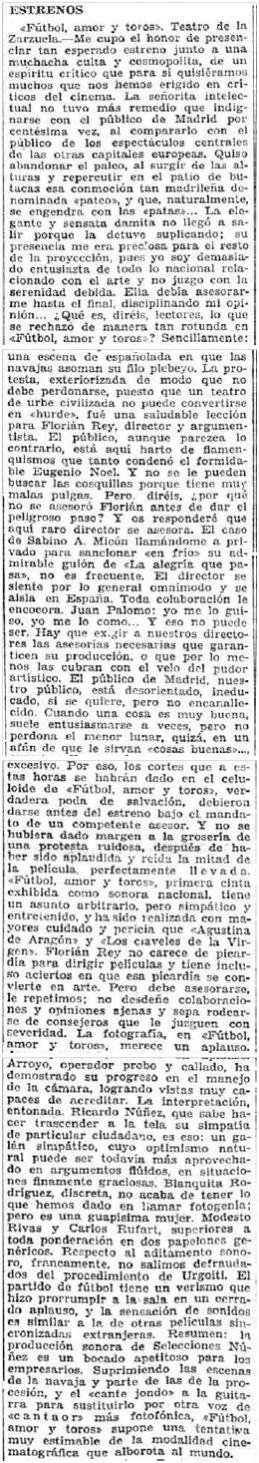 El Imparcial, 11-1-1930.