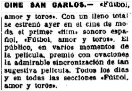 La Libertad, 21-1-1930.