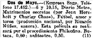 Heraldo de Madrid, 31-1-1930.