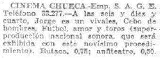 El Imparcial, 8-2-1930.