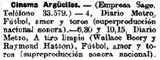 El Heraldo de Madrid, 22-2-1930.
