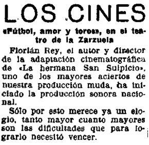La Libertad, 9-1-1930.
