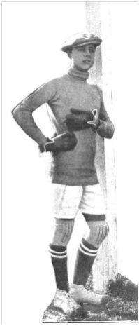 Ricardo, portero del Triana FC (Nuevo Mundo, 29-11-1929).