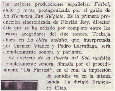 Atlántico, 5-1-1930.