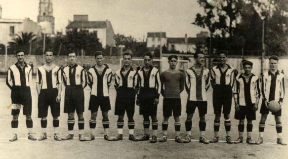 FC Palafrugell en el campo del Casal