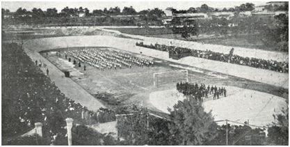 Vista del Velódromo del Tirador (Palma) en 1913