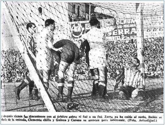 En este Real Madrid-4 Athlétic-1 disputado el 18 de febrero de 1945 coincidieron por primera vez los hermanos Gaínza