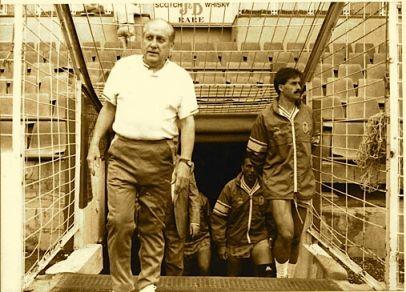 Sú última etapa como entrenador la cubrió en el Estadio Insular