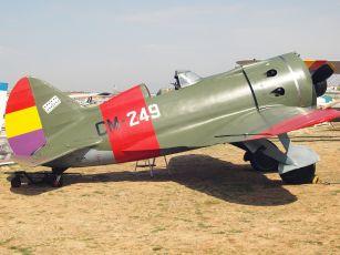 Artigas pilotaba uno de estos durante la Guerra Civil.
