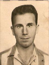 Salvador Artigas en su época de jugador realista.