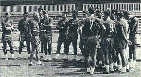 """En el """"Camp Nou"""" se alza el telón de la temporada 67-68"""