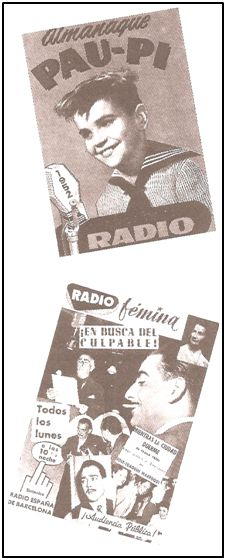 Durante los años 50 y 60 muchos rostros de la radio asomaban regularmente a los kioscos. Para no pocos oyentes venían a ser como de la familia.