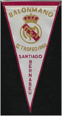 Banderín del II Trofeo Santiago Bernabéu