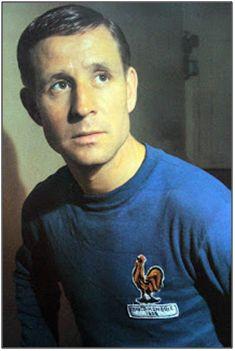 Raymond Kopa, estrella gala de los 50, una de las grandes mediaciones de Luis Guijarro.