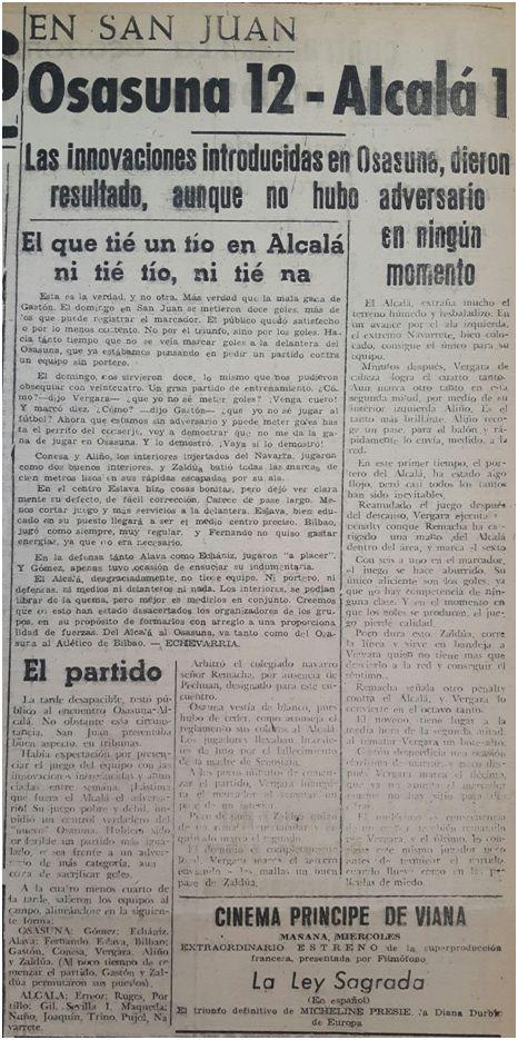 Arriba España (Pamplona, 9 de febrero de 1943).