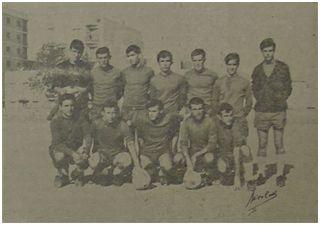 Primer equipo de la SCD Independiente, 1967 (fuente: Fiesta Deportiva)