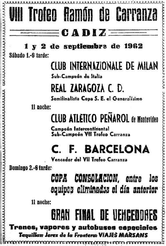 13 de agosto de 1962, página 6, La Voz del Sur (Cádiz).