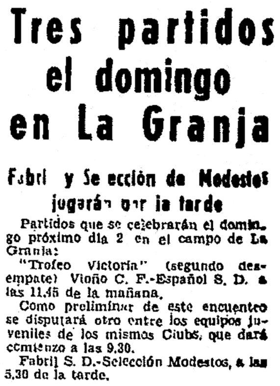 El Ideal Gallego, 30 de agosto de 1962, página 14.