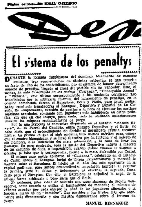 El Ideal Gallego, 5 de septiembre de 1962, página 14.