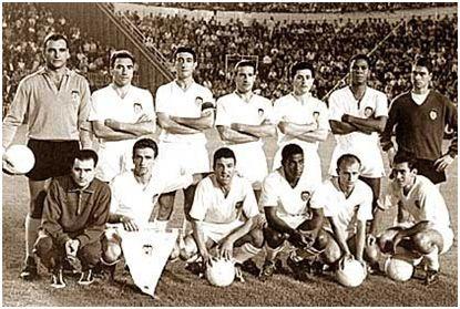 6-2 al Barça y casi campeones: Zamora; Piquer, Quincoces, Mestre; Sastre, Chicao, Ginesta (portero suplente); Héctor Núñez, Ribelles, Waldo, Guillot y Yosu.