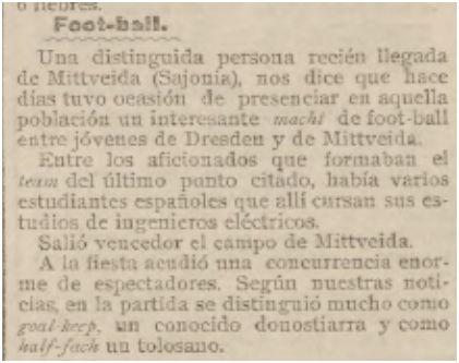 El Pueblo Vasco (09/11/1903)