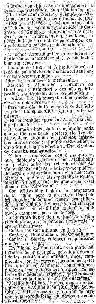 La Gaceta del Norte (31/08/1924)
