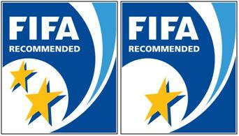 Figura 20 : Los sellos iniciales de 1 y 2 estrellas de la FIFA para catalogar la calidad del césped artificial creados en 2004.