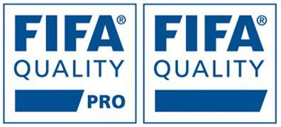 Figura 21 : Los nuevos sellos FIFA PRO y FIFA QUALITY.